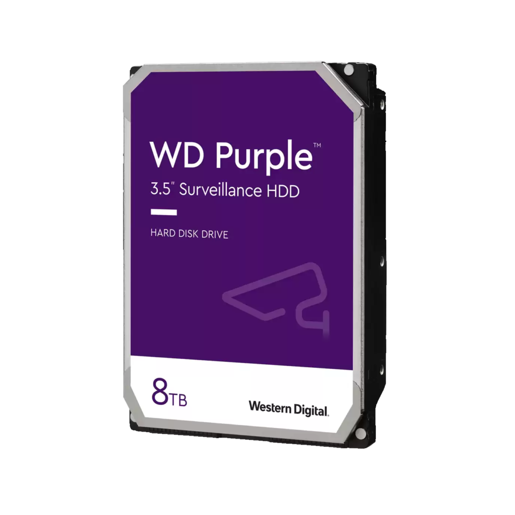 WD 8TB Surveillance Internal Hard Drive